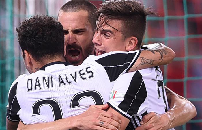Juan Guillermo Cuadrado y la Juventus se coronaron campeones