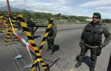 Maduro ordena militarizar la frontera con Colombia