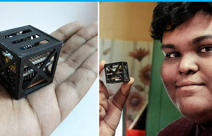 NASA: Lanzará 'el satélite más pequeño del mundo' creado por un adolescente
