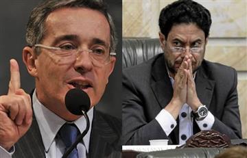 Uribe y su agarrón con Iván Cepeda en el Senado