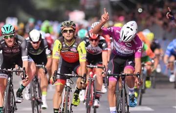 Giro de Italia: Reviva el momento en el que Gaviria ganó la etapa 12