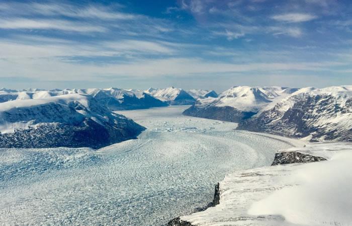 NASA vuela sobre el Ártico y revela sorprendentes imágenes