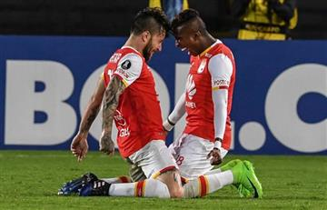 Santa Fe venció a Sporting y sigue con vida en la Libertadores
