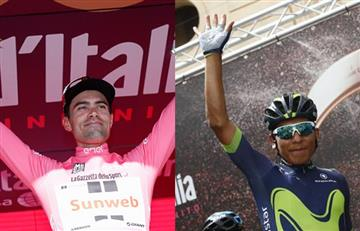 Giro de Italia: Al líder le preocupa más Pinot, que Nairo Quintana