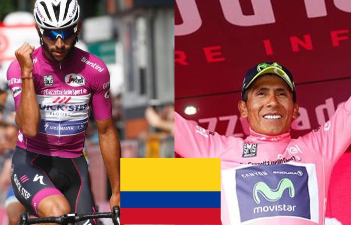 Giro de Italia: Colombia logra alucinante registro que impresiona al mundo