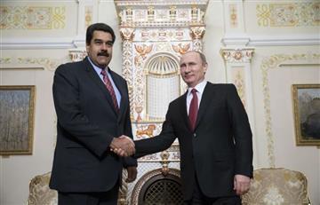 Putin confirma su apoyo a Maduro pese a las protestas