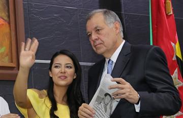 Santander condecora a Ordóñez con la Orden Luis Carlos Galán
