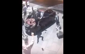 Times Square: El impactante vídeo de un hombre 'atropellando a transeúntes'