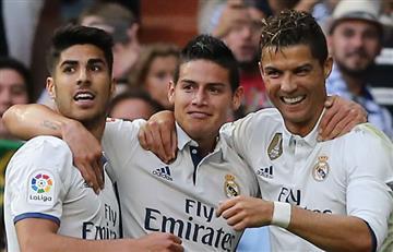 James Rodríguez convocado con el Real Madrid para el encuentro definitivo