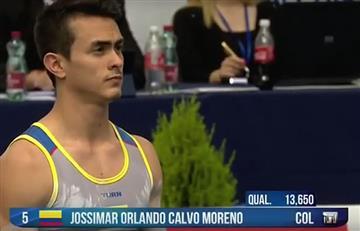Jossimar Calvo se queda con el Oro en el Mundial de Gimnasia