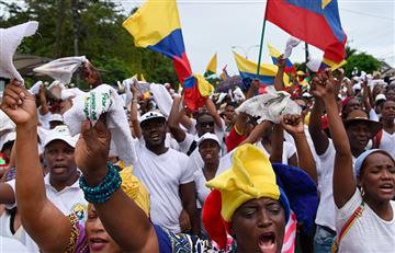 Buenaventura continúa con las protestas pacíficas