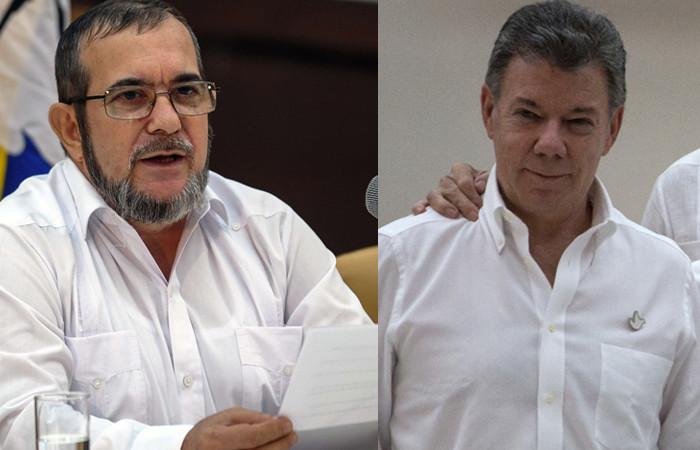 Carta de Timochenko a Santos: