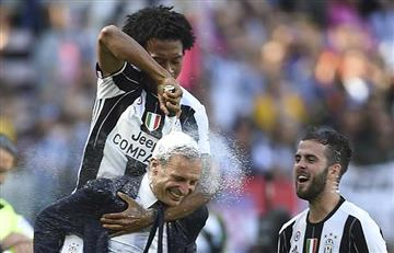 Juventus y Cuadrado campeones de la Liga Italiana