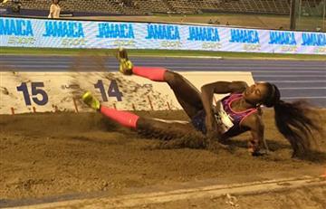Caterine Ibargüen ha regresado a competencia con oro en Jamaica