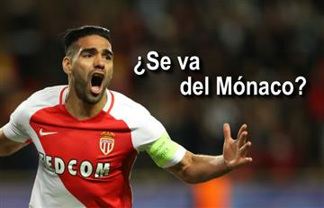 ¿Falcao se va del Mónaco?: Habla el presidente del club
