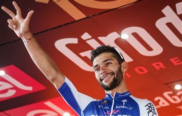 Fernando Gaviria y el vídeo del Giro de Italia que le da la vuelta al mundo