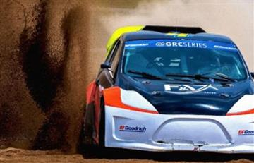 Gustavo Yacamán logra podio en el Global Rally Cross