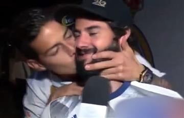 James Rodríguez: Con besos y bailando 'despacito' celebró el título