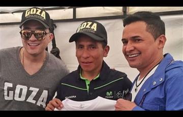 Jorge Celedón incentiva a Nairo Quintana para luchar en el Giro de Italia