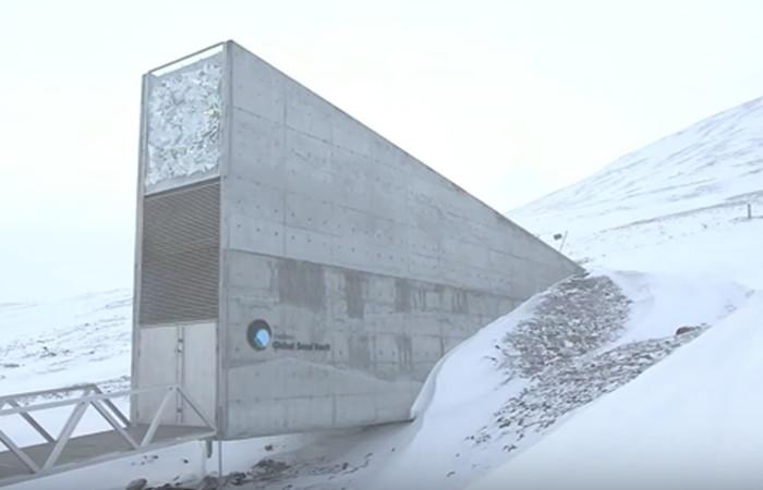 La 'bóveda del fin del mundo' está en peligro por el  calentamiento global