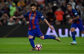 Lionel Messi el máximo goleador de la Liga Santander