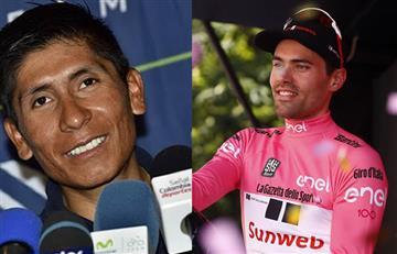 Nairo Quintana: Así agradeció el gesto de Dumoulin en su caída