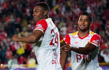 Santa Fe espera sellar clasificación ante The Strongest en Bogotá