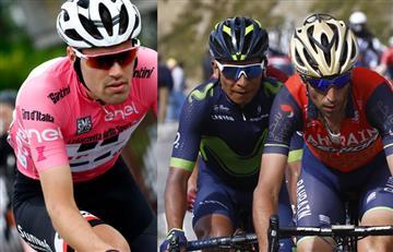Dumoulin decepcionado con lo sucedido con Nairo y Nibali