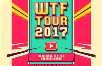 El WTF Tour 2017 se tomará durante el mes de junio 4 ciudades de Colombia