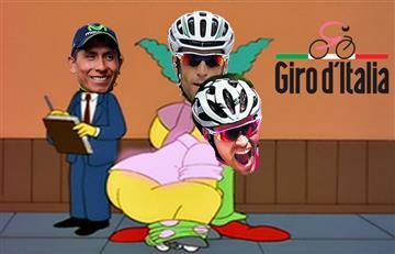 """Giro de Italia: Los memes que dejó """"la embarrada"""" de Dumoulin"""