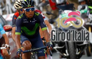 Giro de Italia: Nairo y los colombianos van así tras etapa 16
