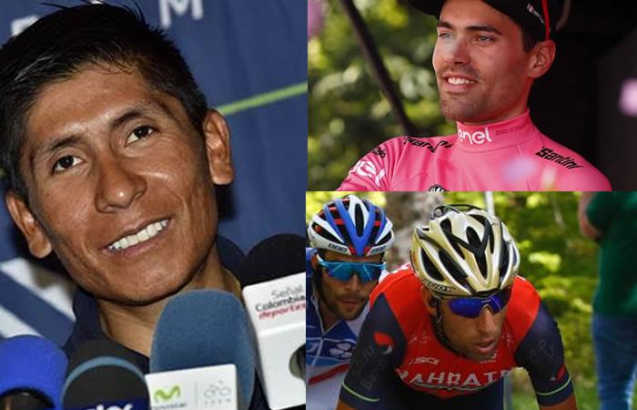 Giro de Italia: Nairo, Nibali y Dumoulin protagonizan polémica