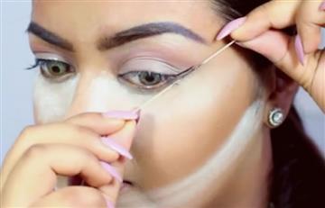 Instagram: Consigue un delineado de ojos perfecto con hilo dental
