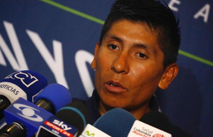 Nairo Quintana: Declaración oficial de lo sucedido con Nibali y Dumoulin