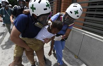 Guardia Nacional de Venezuela es responsable de la mitad de heridos