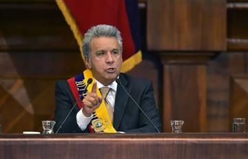 Lenín Moreno se compromete con la paz de Colombia