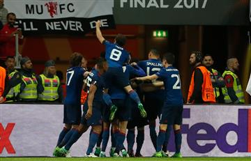 Manchester United campeón de la Europa League