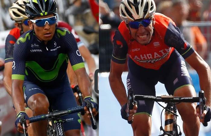 Nairo Quintana: Nibali ve posible una alianza con el colombiano
