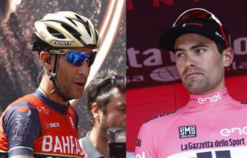 "Giro de Italia: Vicenzo Nibali: ""Dumoulin se pasa de fanfarrón"""
