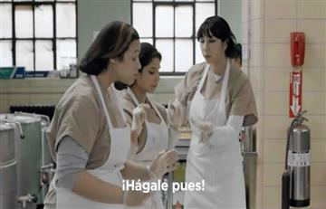 Reclusas de 'Orange Is The New Black' disfrutan a ritmo de 'Epa Colombia'
