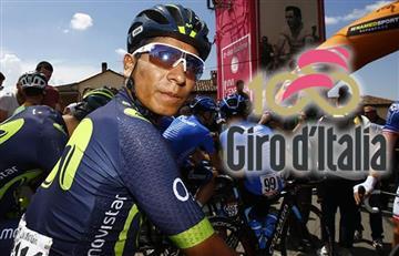 Giro de Italia: Nairo y los colombianos van así tras etapa 19