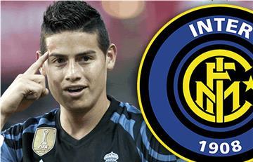 James Rodríguez: Inter de Milan quiere fichar al colombiano y estarían cerca de hacerlo