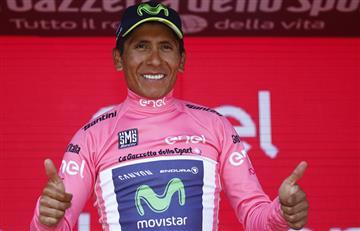 """Nairo Quintana: """"Mi equipo estuvo fuerte y tengo que darles las gracias"""""""