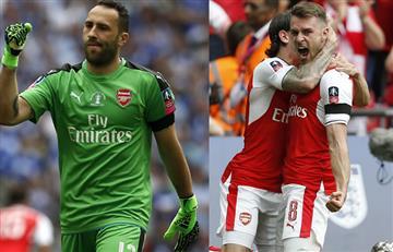 David Ospina y el Arsenal campeones de la FA Cup