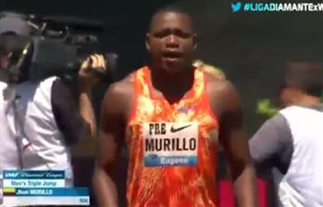 Jhon Murillo saltó y ganó cupo al Mundial de Atletismo