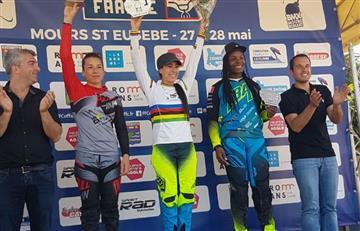 Mariana Pajón gana la séptima etapa de la Copa de Francia