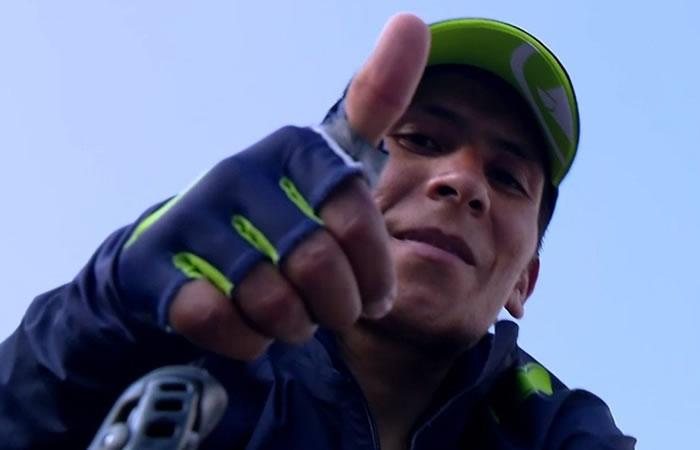 Nairo Quintana envía mensaje positivo a Colombia e indirecta a sus rivales