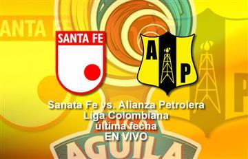 Santa Fe vs. Alianza Petrolera: EN VIVO