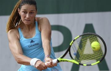 Mariana Duque superó la primera ronda del Roland Garros