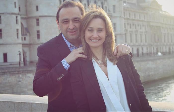 Inés María Zabarain y Jorge Alfredo Vargas y sus 25 años de matrimonio. Foto: Instagram.